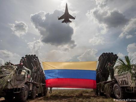 Putin sends Troops in Venezuela to Make sure the Mistake of Libya does not happen again.
