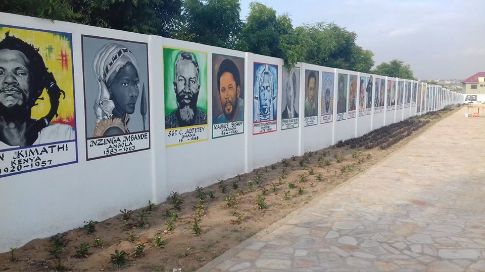 The Wall of African Ancestors