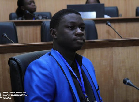 Africans are Becoming more Americanized than Africanized - Says Young Ghanaian Poet, Gabriel Opare.