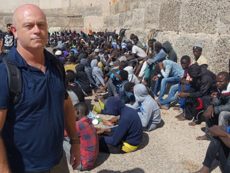 Black people are sold as slaves in Lybia and the World is doing nothing about it.