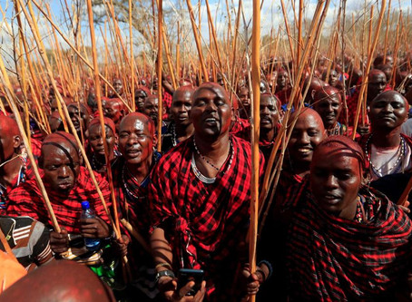 Kenya's Maasai gather for a once-in-a-decade ceremony to turn warriors into elders.