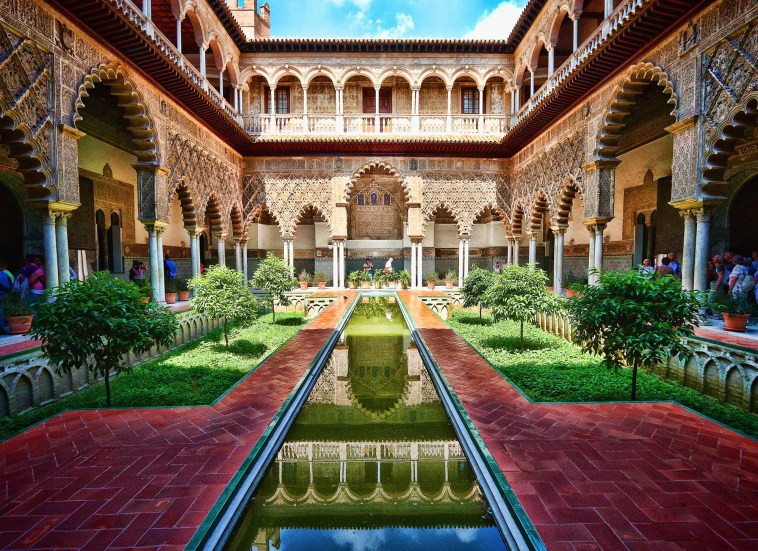 Water Gardens of Dorne, known in our world as the Alcázar of Seville