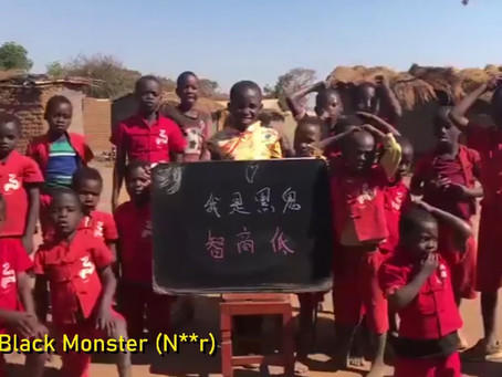 """Racist Chinese Calls Black Africans """"Monsters With Low IQ"""" - Video"""