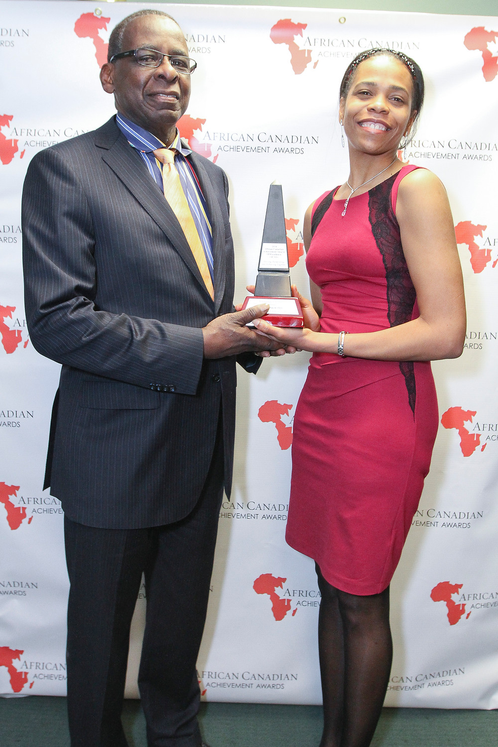 Prof. Dr. Patrice Smith at African Canadian Achievement Awards