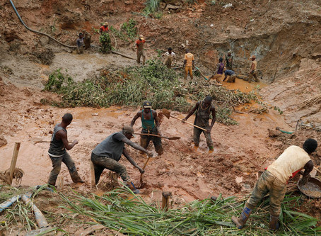 Apple, Google, Tesla, .. benefiting from cobalt mining deaths in Africa, DR Congo.