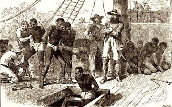 Enslaved Africans Transported
