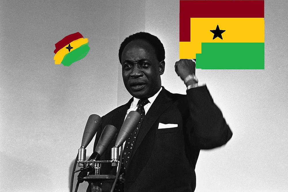 Kwame Nkrumah, Former President of Ghana and an African Hero