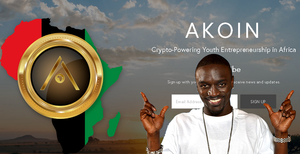 AKoin Crypto already has an official website