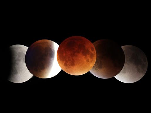 Πανσέληνος στον Τοξότη 26 Μάϊου 2021 (Ολική Έκλειψη Σελήνης)