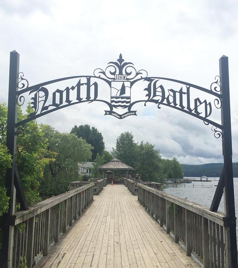 North-Hatley village