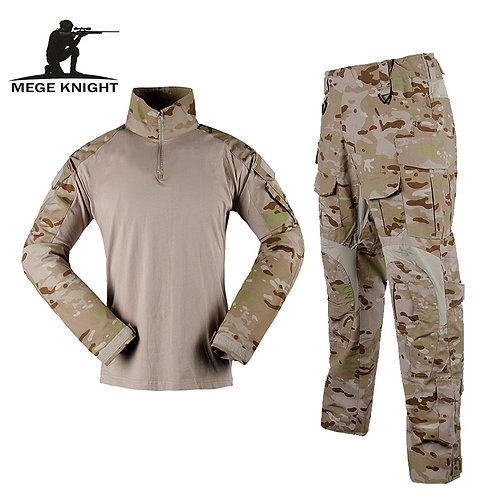 Camouflage Tactical Military Uniform Special Forces Suit Combat Shirt Pants