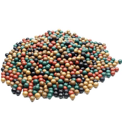 100pcs 9-10mm Hard Mud Ball Outdoor Hunting Slingshot Marbles -  Environmental