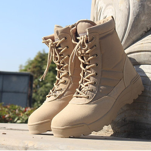 Men Army Desert Military Tactical Boots Male Waterproof