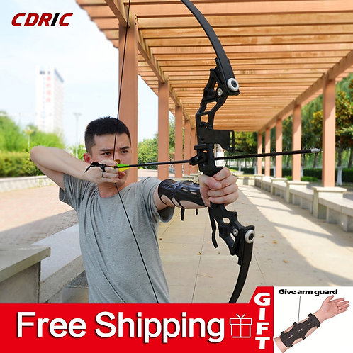 30-50lbs Straight Bow Powerful Archery - Hot Selling
