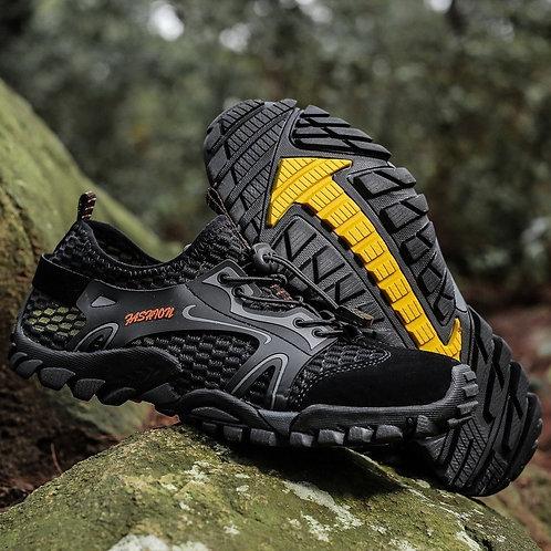 Water Sneakers Men Non Slip Hiking Climbing Aqua Shoes