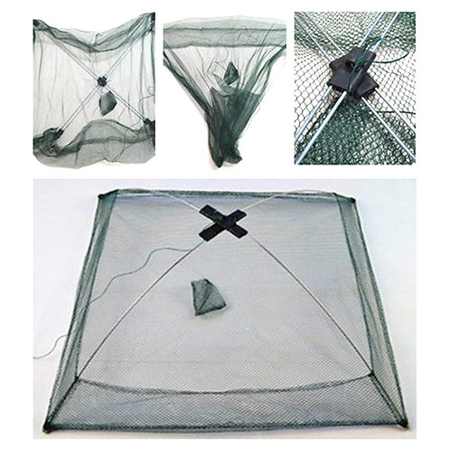 Foldable Folding Mesh Nylon Fishing Net