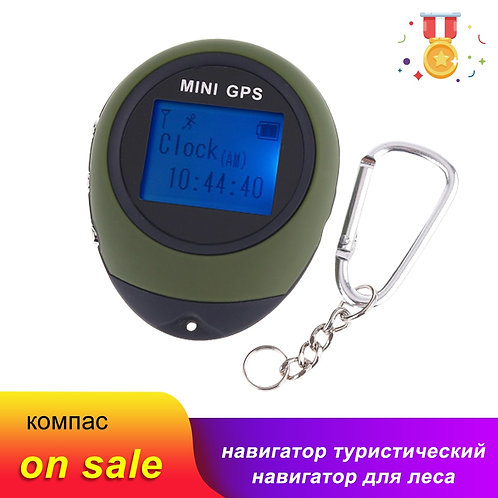 Mini GPS Tracker Navigation Tourist Compass Keychain PG03 GPRS USB Rechargeable