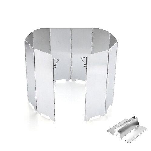 9 Plate Gas Stove Aluminium Alloy Wind Screen Shield