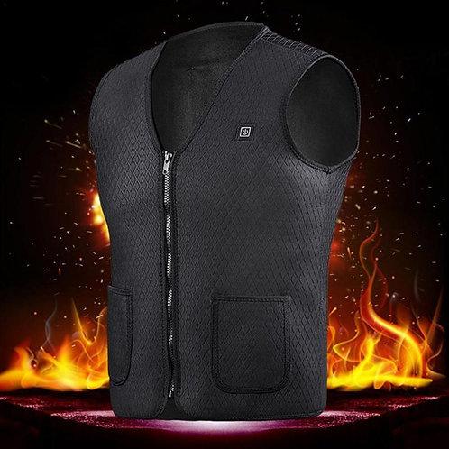 Men Women Outdoor USB Infrared Heating Vest Jacket