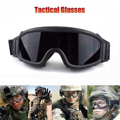 Hot Sale Tactical Paintball Airsoft Safety Ballistic Goggles