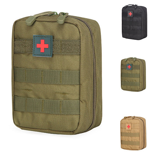 Tactical First Aid Bag Molle Medical Pouch Durable Utility EDC Tool