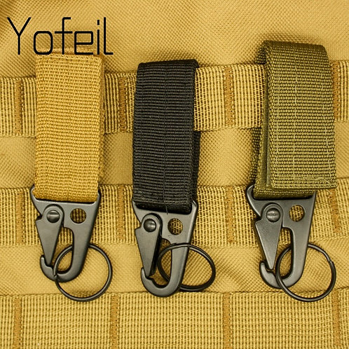 Carabiner High Strength Nylon Key Hook MOLLE