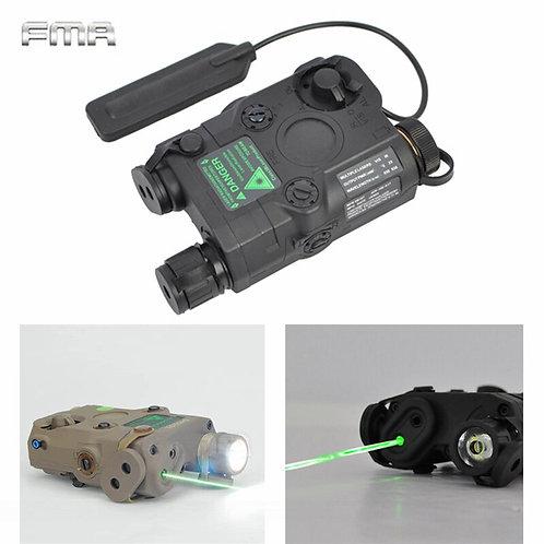 An/PEQ-15 Green Dot Laser White LED Flashlight, 20mm Rail Night Vision