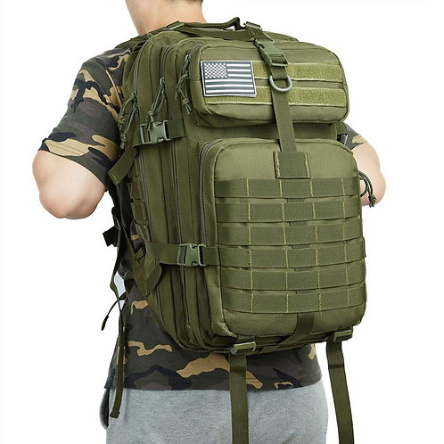 50L Large Capacity Man Army Tactical Backpacks Military Assault