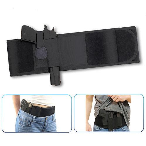 Concealed Pistol Gun Holster Universal Right-Hand Handgun Waist Band