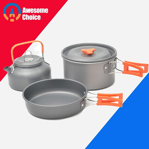 Quality Camping Cookware Outdoor Cookware Set