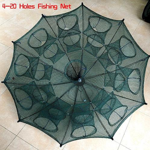 Automatic Cage Nylon Foldable Crab  Fishing Net