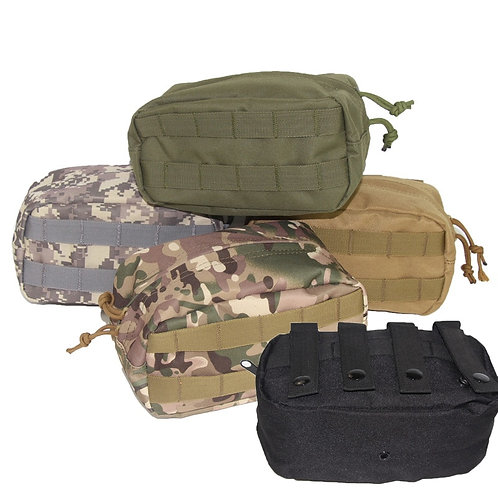 Tactical Magazine Phone Pouch Outdoor Survival Pocket Accessories Molle