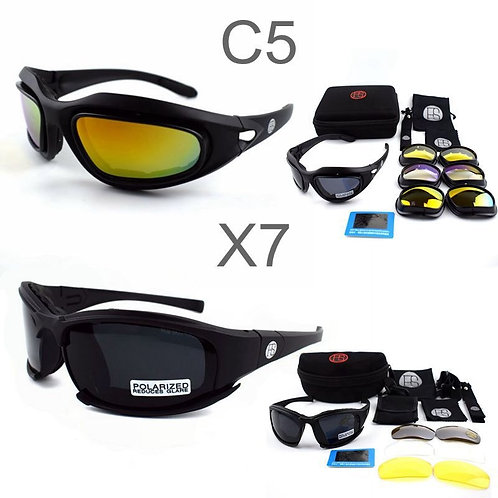 X7 Goggles Military Polarized  C5  Tactical Goggles