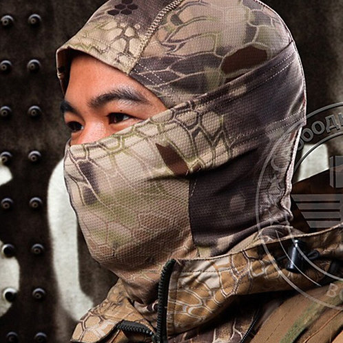 5 Colors Multicam CP Camouflage Tight Balaclava