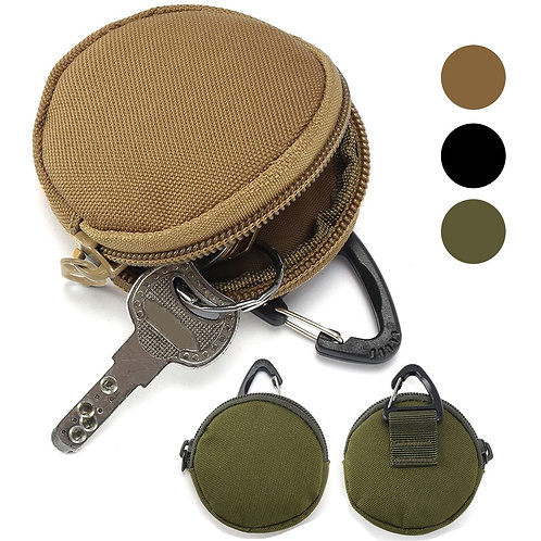 900D Nylon Multifunctional EDC Pouch Tactical  Molle Zipper Pack