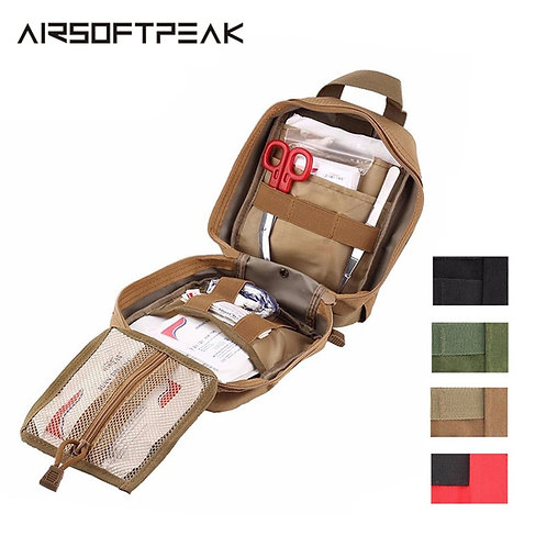 AIRSOFTPEAK Medical First Aid Pouch Tactical MOLLE