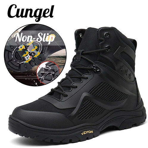 Tactical Outdoor Hiking Boots Antiskid