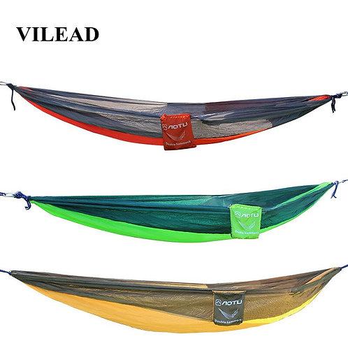 VILEAD Camping Hammock 260*140 Cm Ultralight Portable Parachute Outdoor