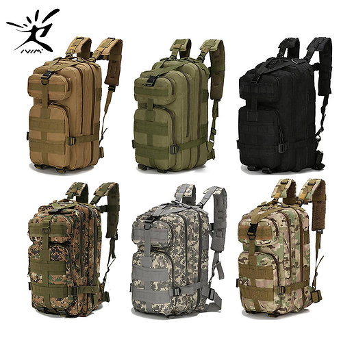1000D Nylon Tactical Military Backpack Waterproof Army
