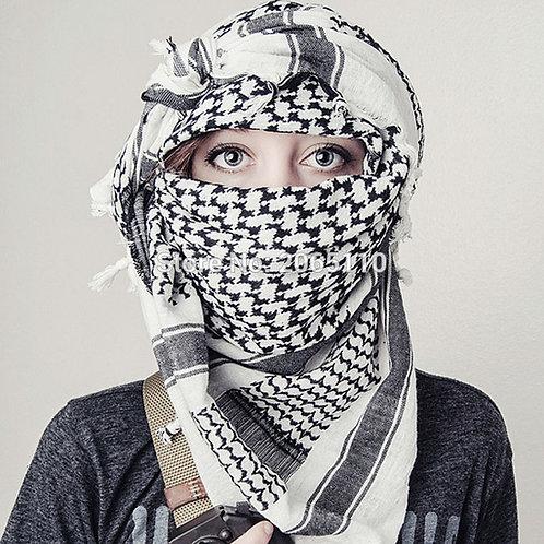 Military Arab Keffiyeh Shemagh Scarf Winter Shawl Neck Warmer Cover Head