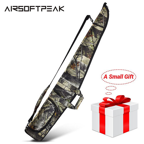 AIRSOFTPEAK Gun Case Military Tactical Rifle Bag Outdoor Camouflage, 130CM