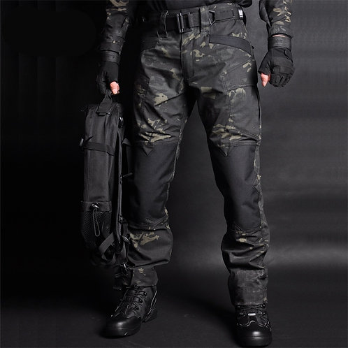 Tactical Pants Camouflage Military Cargo Sweatpants Loose