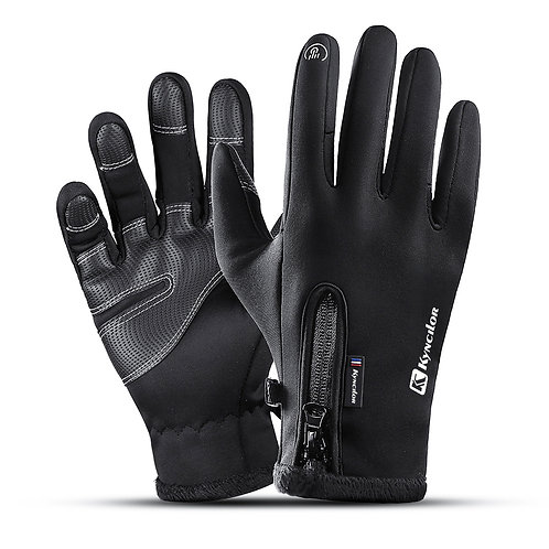 Winter Thermal Fleece Touchscreen Gloves Soft Fleece Gloves Cold Weather