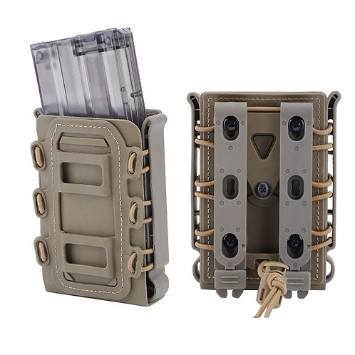 Outdoor 5.56 7.62 Fast Magazine Pouch Quick Release, Molle System