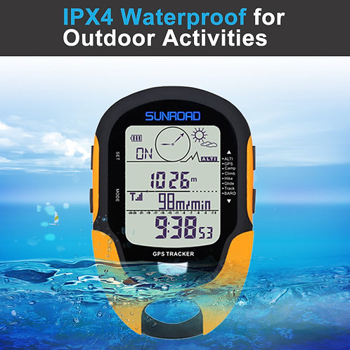 Digital GPS Altimeter Barometer Compass