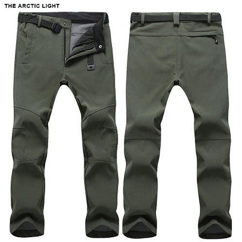 The ARCTIC LIGHT Warm Winter Woman/Men Soft Shell Pants Waterproof