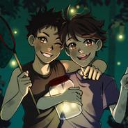 Iwaoi with Fireflies