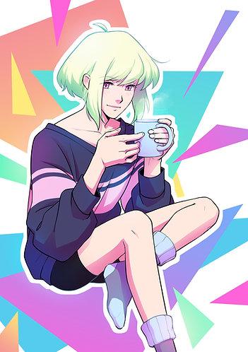 A5 Print ☆ Coffee Lio