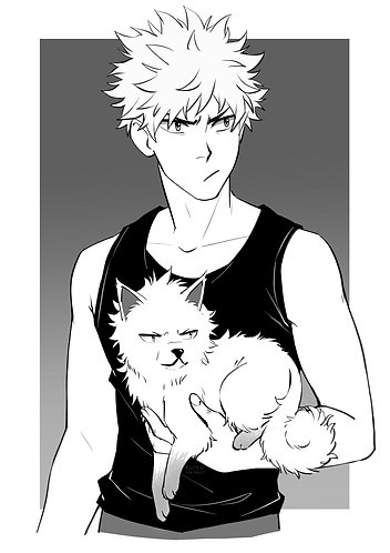 A5 Print ☆ One Man and His Dog