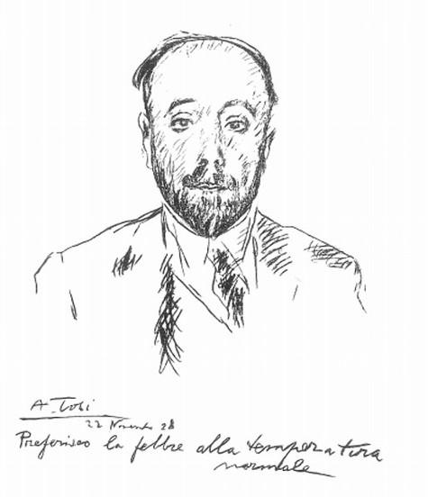 Anselmo Bucci - Arturo Tosi - 1928